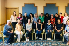 Women ReBOOT 2018 participants at their first seminar bootcamp