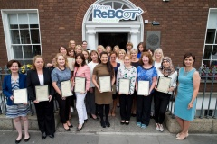 Women ReBOOT Dublin Autumn 2017 graduation event, 12 July 2018