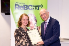 Women ReBOOT graduation event, 12 July 2018, with Minister of State for Equality, David Stanton, TD